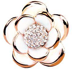 Crystal Flower - Rings