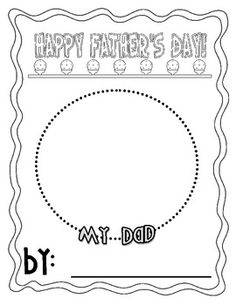Have your students make a quick, yet meaningful book about their dad for Father's Day. This project is super easy to put together. Simply print out...