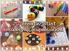 20 kreatív ötlet műanyag kupakokkal – Anya játsszunk! Diy Crafts For Kids, Projects For Kids, Science Equipment, Bottle Cap Crafts, Recycled Crafts, Infant Activities, Pre School, Summer Fun, Triangle