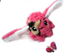 Fluse Kawaii Plush cute Rabbit pink Tiger Eye  Star von Fluse123