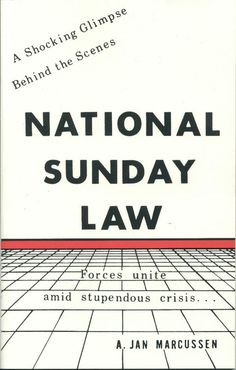 Do you what is National Sunday Law?