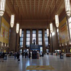 30th St. Amtrak Station, Philadelphia.