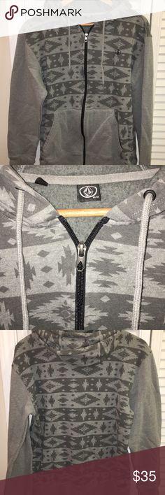 Volcom Men's Medium Gray ZIp Hoodie Volcom Men's Medium Gray ZIp Hoodie. Great condition. Volcom Shirts Sweatshirts & Hoodies