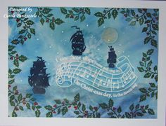 September 2017 - Christmas Carol stamps from Clarity