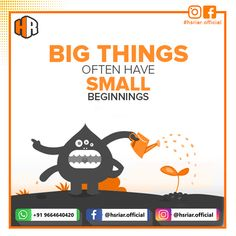 BIG THINGS OFTEN HAVE SMALL BEGINNINGS....!!! Follow us @hsriar.official Contact Us Email: hsriar.work@gmail.com Whatsapp: +91 9664640420 #hsriar #startup #business #growbusiness #marketing #hsriarofficial #graphicsdesigner #freelancer #india #vadodara #digitalmarketing #graphics #website Social Media Marketing, Digital Marketing, Web Development, India, Graphics, Website, Big, Business, Goa India