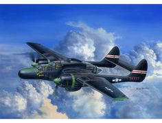 "Northrup P-61 ""Black Widow"" Night Fighter"