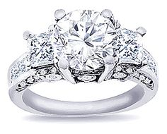 glam, glam.  more detail here:Womens Diamond Ring 1.85ct. tw.