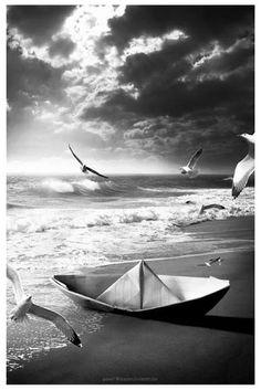 Φωτογραφία: Ο καθένας ταξιδεύει στις θάλασσες και στο βάθος που αντέχει!!!