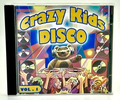 Crazy Kids Disco CD Volume 1 By Crazy Company 21 Tracks From Switzerland Party Disco Cd, Cds For Sale, Buy Music, Crazy Kids, My Ebay, Switzerland, Party, Shop, Parties