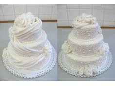 Wedding Cake Roses, Rose Wedding, Wedding Cakes, Vanilla Cake, Desserts, Tailgate Desserts, Wedding Pie Table, Dessert, Wedding Cake
