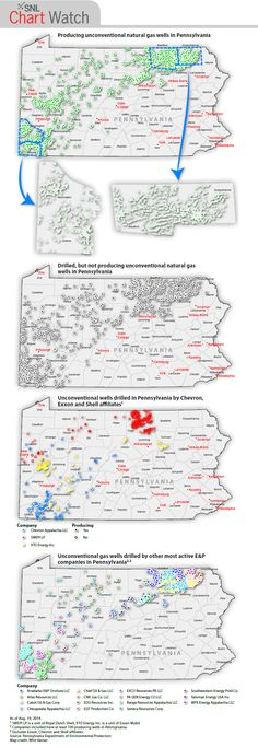 Pennsylvania's Marcellus Shale, in 4 maps