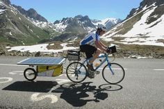 Cycling holidays in the Alps in France