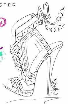 Fashion Illustration Template, Bag Illustration, Ink Illustrations, Shoe Sketches, Fashion Sketches, Coloring Books, Coloring Pages, Gents Shoes, Drawing Clothes
