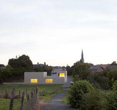 Boidot & Robin architects . Community hall . Saint Pierre des Bois (1)