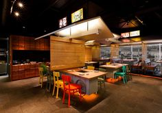 coca grill restaurant reflects thai street food culture - designboom | architecture