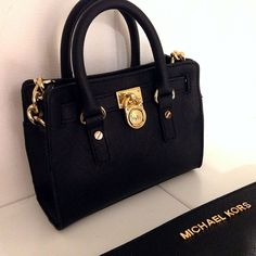 Michael Kors Tote Handbags Wallet Black