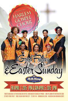 Harlem Gospel Choir (4.3.15 & 4.5.15)