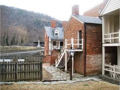 Harpers Ferry Back Streets