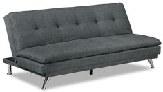 the brick condo furniture. Living Room Furniture - June Linen-Look Fabric Futon \u2013 Charcoal The Brick Condo