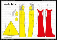 Amazing Sewing Patterns Clone Your Clothes Ideas. Enchanting Sewing Patterns Clone Your Clothes Ideas. Sewing Dress, Diy Dress, Sewing Clothes, Evening Dress Patterns, Wedding Dress Patterns, Fashion Sewing, Diy Fashion, Ideias Fashion, Easy Sewing Patterns