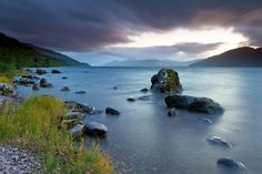 Loch Ness. Wanna go here, not because of the monster, but because it just so beautiful.