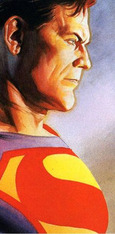 #Superman #Fan #Art. (Superman) By: Alex Ross & Doug Braithwaite. (THE * 5 * STÅR * ÅWARD * OF * MAJOR ÅWESOMENESS!!!™) [THANK U 4 PINNING!!!<·><]