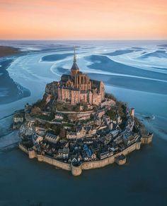 Timeless beauty ~ Mont Saint-Michel, France Phot