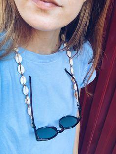 Bracelet Crafts, Beaded Bracelets, Glass Necklace, Eyeglasses, Diy Jewelry, Chain, Glass Beads, Jewels, Blog