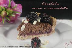 Crostata more e cioccolato vegan senza glutine http://www.senzaebuono.it/crostata-more-e-cioccolato-vegan-senza-glutine/