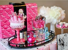 Fashion Runway Barbie Birthday Party by LundynBridge Events Barbie Birthday Party, Birthday Fashion, Barbie Party, 4th Birthday Parties, Girl Birthday, Birthday Ideas, Barbie Fashionista, Sleepover Party, Spa Party