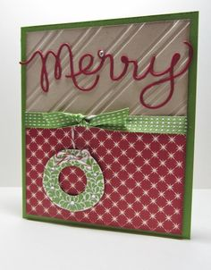 CC434 Merry Expressions by nancy littrell - Cards and Paper Crafts at Splitcoaststampers