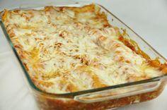 Grandma's Italian Lasagna. Best lasagna ever. She taught me how to make it before she passed away.