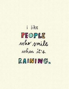 like, people, quote, rain - inspiring picture on Favim.com