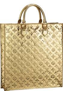 Gold Louis Vuitton