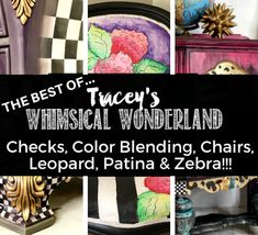 The Best of Whimsical Wonderland Wood Plank Walls, Harlequin Pattern, Paint Companies, Dixie Belle Paint, Boho Bedding, Dark Wax, Color Blending, Learn To Paint, Painted Furniture