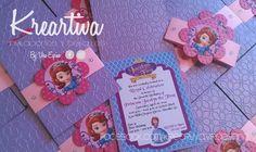 Invitación Infantil #PrincesitaSofia