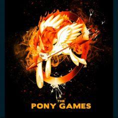 Princess Celestia=Mockingjay. Genius.i WISH THERE WAS A pony games movie... sigh.