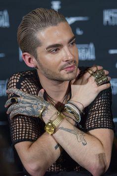 Pin for Later: Die ultimative Galerie der Promi Tattoos! Bill Kaulitz Bill von…