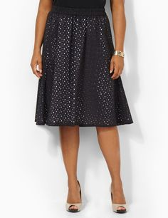 Plus size skirt from Catherines