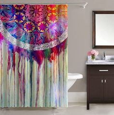 "Hot Best Seller Dream Catcher Painting Art Free Shipping Shower Curtain 60""x72"" #Unbranded #Modern"