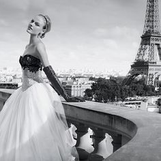 Haute Couture Wedding Dresses  French Wedding Style