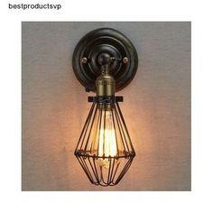 #Ebay #Indoor #Wall #Lighting #Sconce #Vintage #Light #Fixture #Metal #Industrial #Mount #Bronze  #CLAXY #Traditional