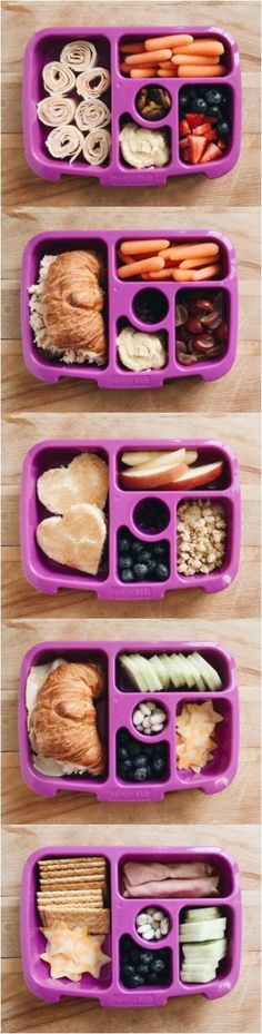 5 Easy & Fun Lunch Box Ideas for Kids to rotate each week // Garvin & Co.