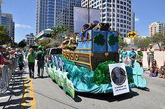 St. Patrick's Day Parade Winterfest Float