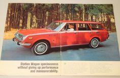 1969 Toyota Corona Wagon Project Brochure