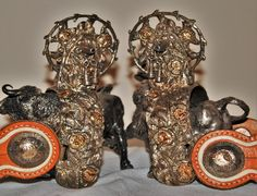 Find more @ https://www.etsy.com/shop/cowboy2873?ref=hdr_shop_menu.. AMAZING MEXICAN GALA SPURS.SOLID SILVER WITH 12 KARATS GOLD INLAYS 500 GRAMS EACH.