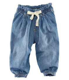 H Baby girl trousers Baby Girl Fashion, Toddler Fashion, Toddler Outfits, Baby Boy Outfits, Kids Outfits, Kids Fashion, H&m Baby, Little Baby Girl, Baby Girl Jeans
