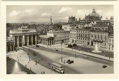 Berlin, Pariser Platz, um 1935.