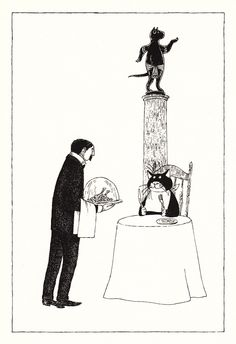 T. S. Eliot's Iconic Vintage Verses About Cats, Illustrated and Signed by Edward Gorey   Brain Pickings