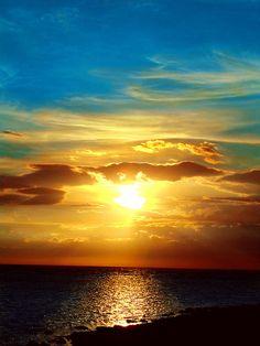 beautiful sunset, Philippines